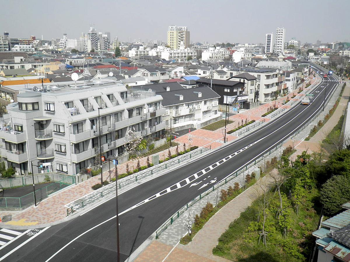街路築造工事(29四-補229上石神井)