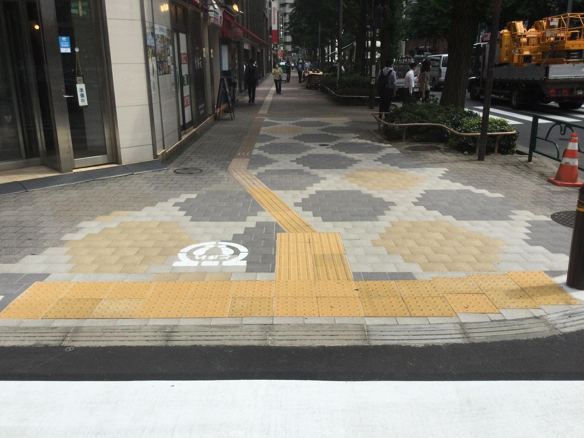 西新宿水道管取替に伴う復旧工事